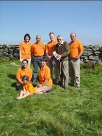 Meat dartmoor members with Wag of Widecombe